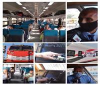 فيديو| بين الجرار الأمريكي والعربات الروسية.. رحلة داخل «القطارات» الجديدة