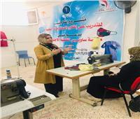 تدريب فتيات سيناء على إنتاج التراث البدوي