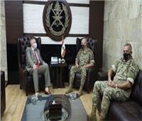 قائد الجيش اللبناني يستقبل المنسق الخاص للأمم المتحدة في لبنان