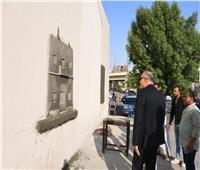 صور   أشجار زينة وأعمال فنية تزين ميادين وشوارع قنا