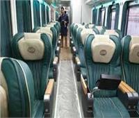 صور| «TOP VIP».. ٨ معلومات عن أفخم عربة قطار في مصر
