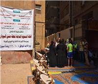 جامعة القاهرة: الكشف الطبي على 259 مواطنًا في «القافلة التنموية الشاملة»