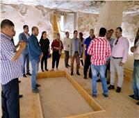 «محافظ المنيا» يبحث ملف إدراج «تل العمارنة»على قائمة التراث العالمي