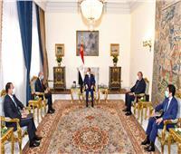 الرئيس السيسي يلتقي وزير خارجية الأردن ويؤكد «المواقف العربية ستفرض خطوط الأمن القومي»
