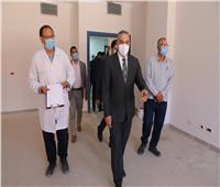 محافظ سوهاج يتفقد مستشفى الصحة النفسيةتمهيداً لافتتاحها
