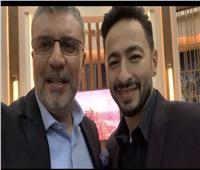 حمادة هلال ضيف عمرو الليثي في أولي حلقات واحد من الناس علي شاشة الحياة