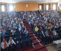 طب بشري سوهاج تحتفل باستقبال طلابها الجدد