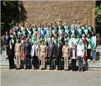 وزير الشباب يشهد ختام دورة الأمن القوميبأكاديمية ناصر العسكرية