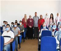 بدء العمل بالجامعة المصرية للتعليم الإلكتروني الأهلية بالقناة