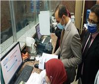 نائب محافظ سوهاج يتفقد المركز التكنولوجي وإدارة خدمة المواطنين بجرجا