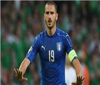 «بونوتشي» يدخل قائمة المدافعين الأكثر مشاركة مع «إيطاليا»
