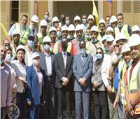 صور| زيارة رئيس المقاولون العرب لهيئة قناة السويس لبحث سبل التعاون