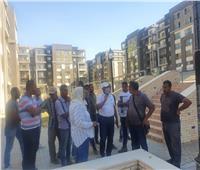 صور.. قيادات الإسكان يتفقدون مشروعي سكن مصر وJANNA بالقاهرة الجديدة