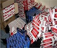 ضبط 630 ألف علبة سجائر مجهولة المصدر بأسوان