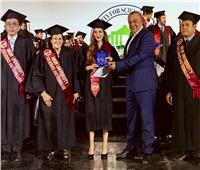 الاحتفال بتخرج دفعة 2019-2020 في كلية الطب بجامعة مصر للعلوم والتكنولوجيا