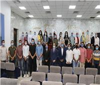 نائب محافظ سوهاج يلتقي شباب مبادرة «شباب يدير شباب YLY»