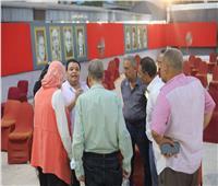 صور | خالد جلال يتفقد اللمسات الأخيرة لاحتفال نصر أكتوبر بساحة الهناجر