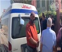 فيديو وصور| وصول جثمان الفنان محمود ياسين إلى مسجد الشرطة