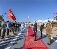 الرئيس التونسي يشهد الاحتفال الـ57 بعيد الجلاء