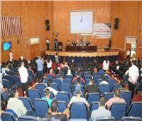 جامعة سوهاج تحتفل بطلابها الملتحقين بالتعلم الإلكتروني