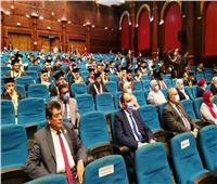 محافظ الغربية يشارك في حفل خريجي جامعة طنطا من الطلاب الوافدين