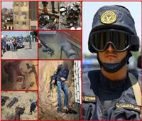 «مصنع الرجال».. أبرز ضربات «الشرطة» للبؤر الارهابية