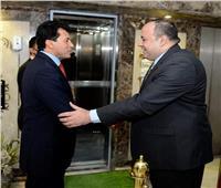 أحمد جلال يدشن مع وزير الرياضة 4 مشروعات وطنية كبرى لمؤسسة أخبار اليوم
