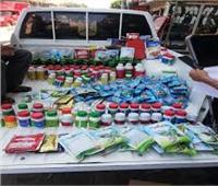 التحفظ على 19 طن مبيدات غير صالحة في الغربية