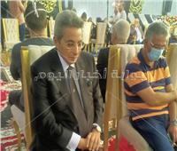 فيديو وصور| بدء عزاء الراحل محمود ياسين بحضور عدد كبير من نجوم الفن