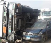 مصرع شخص وإصابة 8 آخرين في حادث تصادم بالمنوفية