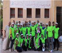 «الأسقفية» تواصل مبادرات «معًا من أجل مصر» بتعقيم مدرستين بالمنيا