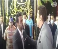 فيديو وصور| هاني رمزي يصل عزاء الراحل محمود ياسين بالشيخ زايد