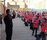 فيديو و صور..انتظام العملية التعليمية في مدارس بني سويف