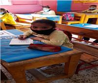 حجازي يداعب طلاب الابتدائي..ونور: «نفسي اطلع مدرسة وادي دروس»