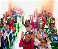 فيديو و صور..عدم الالتزام بـ«ارتداء الكمامة» في مدارس قنا