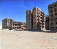 صور| لحمايتهم من السيول.. بناء 42 عقارًا لسكان الزرايب بـ15 مايو