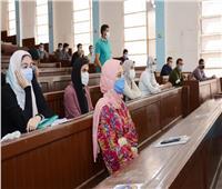 جامعة طنطا تشدد على الإجراءات الاحترازية في أول يوم دراسي