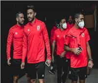 بعثة الأهلي تغادر المغرب من ملعب محمد الخامس إلى مطار الدار البيضاء