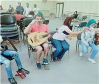 ثنائي العود «غسان ودينا» يشاركان ذوي القدرات الخاصة في حفل «أولادنا»