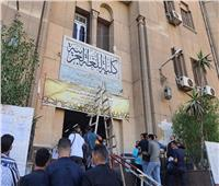 صور| رئيس جامعة الأزهر يشدد على مراعاة الإجراءات الاحترازية في أول أيام الدراسة