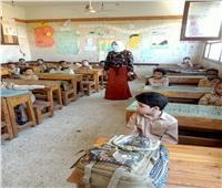 لجان من صحة بنى سويف لمتابعة الإجراءات الاحترازية فى المدارس