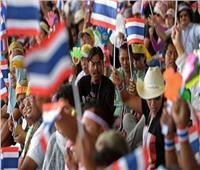 آلاف التايلانديين يتحدون حظرا على الاحتجاجات في بانكوك