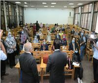 بالصور وزير التعليم العالي يشهد أول تجربة ناجحة للمنصة التعليمية الذكية بجامعة القاهرة