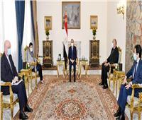 وزيرة خارجية إسبانيا:جهود مصر ساهمت في إحكام الوضع الليبي