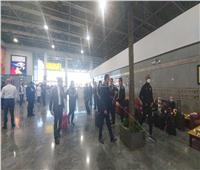 صوروفيديو.. بعثة الأهلي تصل مطار القاهرة بعد الفوز على الوداد في نصف نهائي إفريقيا