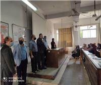 التشديد على الإجراءات الوقائية بين طلاب جامعة الإسكندرية
