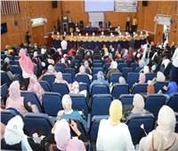 رئيس جامعة سوهاج يشارك بحفل استقبال ٦٢٥ طالباً وطالبة بكلية العلوم