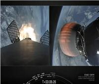 فيديو| إطلاق «Starlink 14» وهبوط المرحلة الأولى من «Falcon 9»