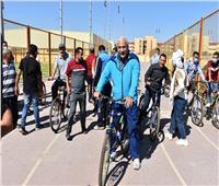 يوم رياضي بكلية التربية الرياضية بجامعة السادات