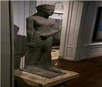 «بن منخ» تمثال الكهنة من العصر اليوناني.. أحد مقتنيات متحف الحضارة